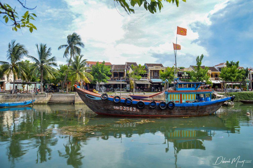 A Vietnamese Boat, Hoi An, Vietnam
