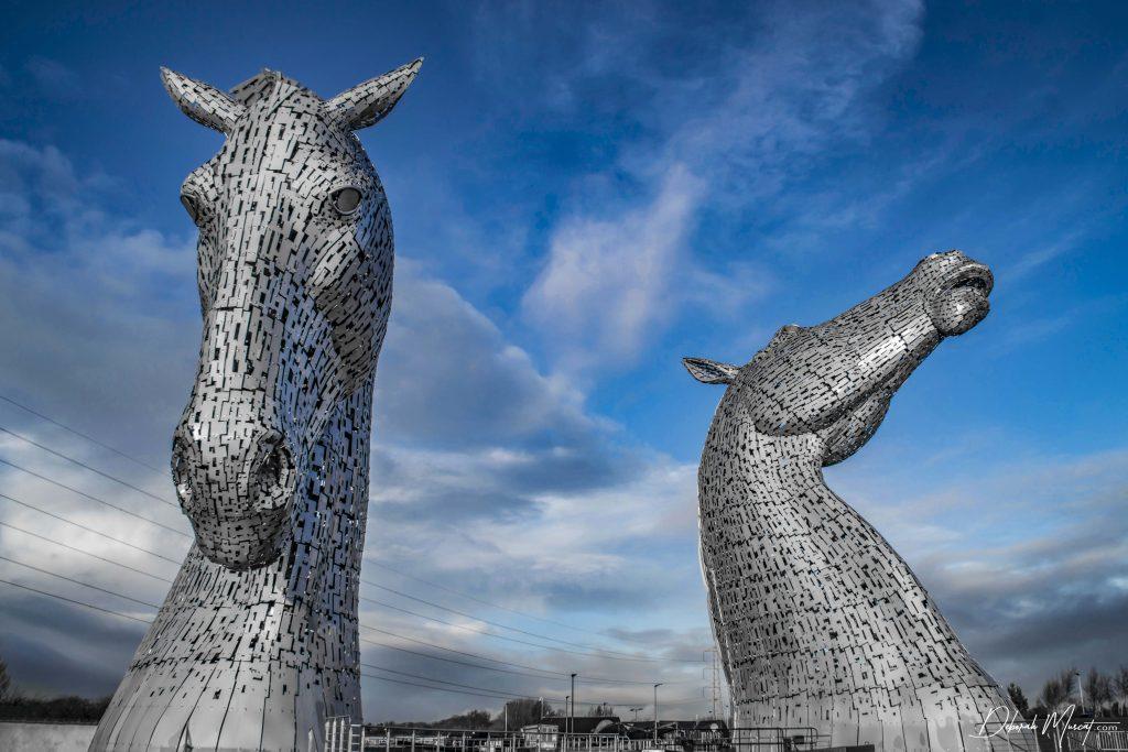 The Kelpies, Falkirk, Scotland